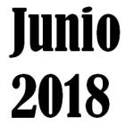 [1806] Avisos Junio 2018